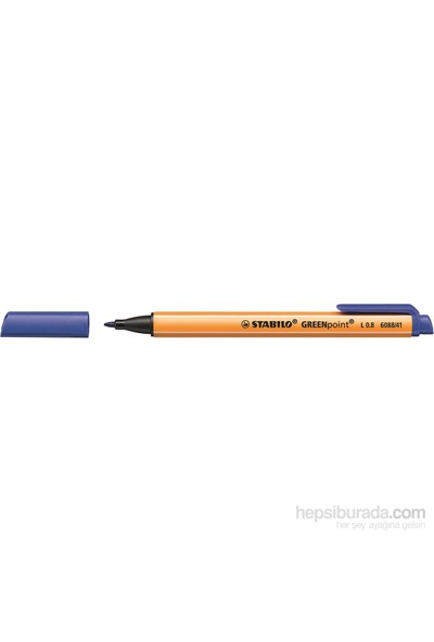 Stabilo Greenpoint - Mavi 10Li