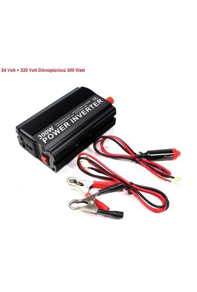 Schwer 24 Volt >> 220 Volt Dönüştürücü 300 Watt