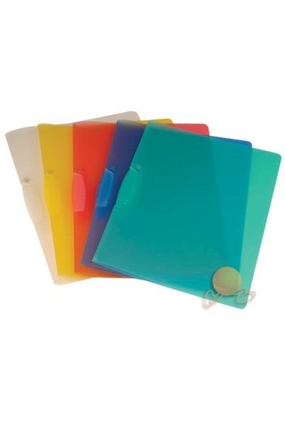 Daily PP Sırttan Sıkıştırmalı Color Klips Dosya