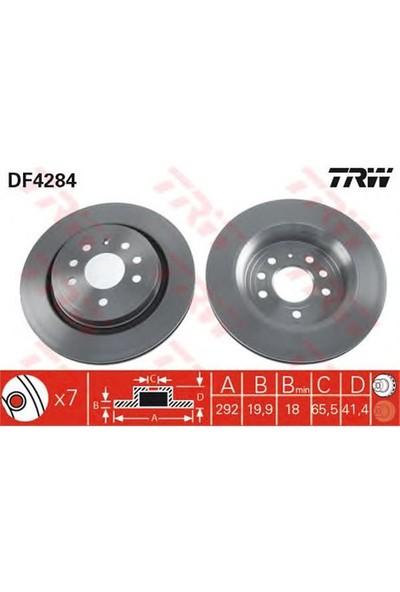 Trw Df4284 Arka Fren Aynası Vectra C Gts (4.02>Sıgnum 03>Saab 9.3 02>(292X199.9X7dlxhavalı)