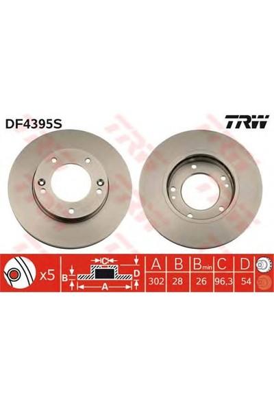Trw Df4395s Ön Fren Aynası Kia Sorento 2.4 İe 16V 02>2.5 V6 Crdı 02>3.5 V6 24V 02> (302X28x5dlxhavalı) (Df4395)