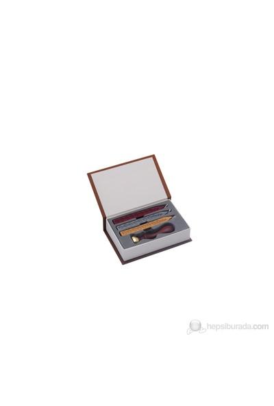 Steelpen Mühürlü Set 3 Renk Mühür Mumu Istampalı Sk-0132