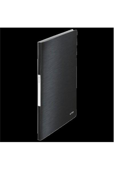 Leitz Style Sunum Dosyası 40 Poşetli Saten Siyahı 39590094