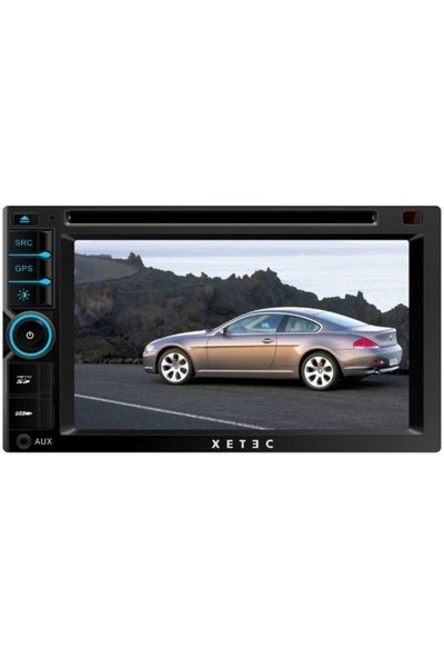"Xetec DS-3501 6.2"" dokunmatik ön panel /dvd/vcd/mp3 /navigasyon dahil sistem/bluetooth/Usb/TV/ direk"