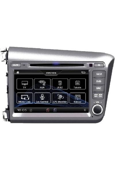 Necvox Honda Civic New Multimedya Sistemleri