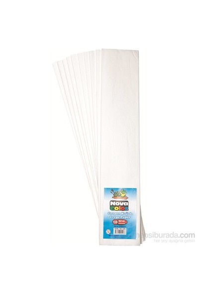 Nova Color Grapon Kağıdı 10 Lu Beyaz Nc-340