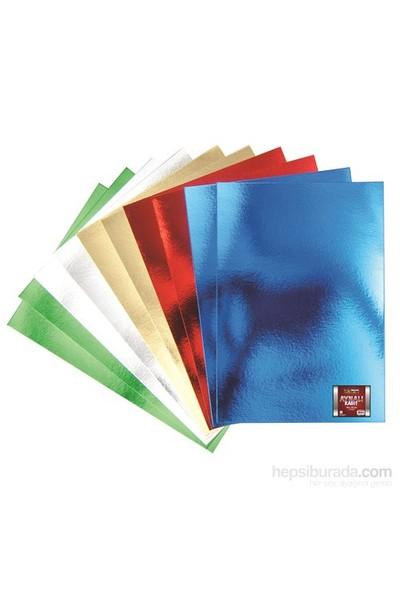 Nova Color Nc-361 Aynalı Kağıt 50x70 cm 20x30 cm 10 Renk Karışık Set