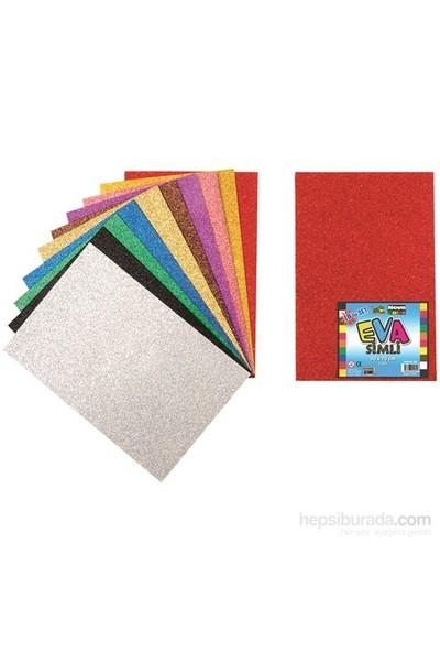 Nova Color Nc-364 Eva Simli 50x70 cm 10 Renk Karışık Fon Kartonu