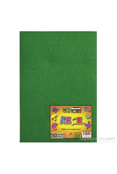 Nova Color Nc-420 Keçe 20x30 cm 10 Renk Karışık Set Fon Kartonu