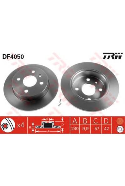 Trw Df4050 Arka Fren Aynası Astra G H 1.4-1.6 1.8 03/04=> Meriva 1.4 16V Twin (7.04=>1.6 03=>(240X10x4dl)
