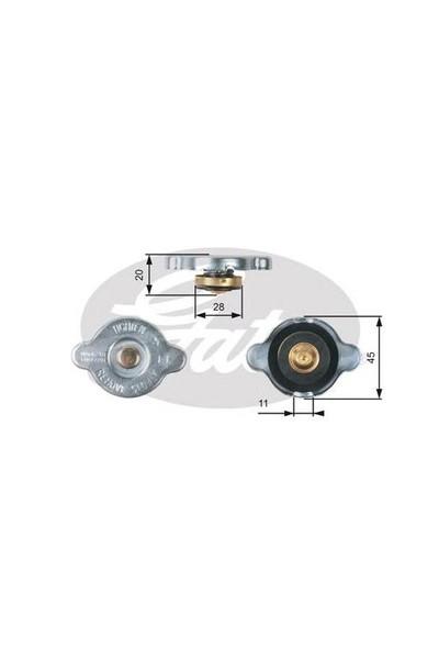 Ioe-Hyu 253303K000 Radyatör Kapagı : 1,1 - Marka: Hyundaı - I10/I20/I30/I40/Ix35/Era/Blue/Matrıx/Getz/Cerato - Yıl: 96-