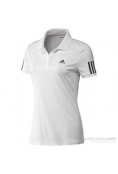 Adidas W Rsp Trd Polo Wht/Black Kadın