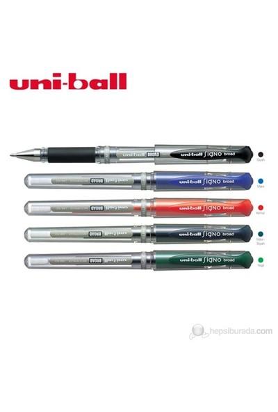 Uni İmza Kalemi Sıgno Um-153 1.0 Mavi-Siyah