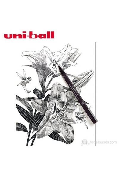Uni Pin Gliss Uçlu Çizim Kalemi 0,1 (PIN01-200)