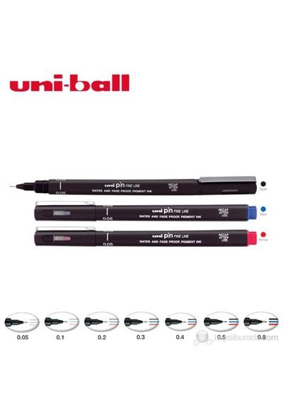 Uni Pin Gliss Uçlu Çizim Kalemi 0,2 (PIN02-200)