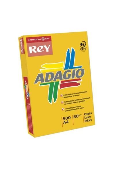 Rey Adagio (A4) 80 Gr. 500'lü Renkli Fotokopi Kağıdı (07-Pembe)