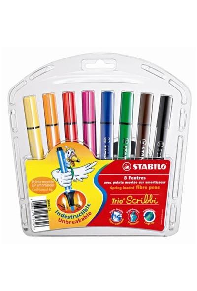 STABILO Trio Scribbi 8'li Paket