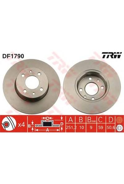 Trw Df1790 Arka Fren Aynası Bravo(07-)Stılo(01-)Lınea(07-)Alfa Mıto(08-)Lancıa Delta(08-) Lybra(251.5X10x4dl)