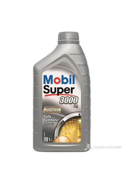 Mobil Süper 3000 X1 5W-40 1lt Benzinli Dizel LPG Motor Yağı