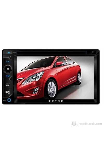 """Xetec DS-6202 6.2"""" inç Dokunmatik Ekran Navigasyon Multimedya"""