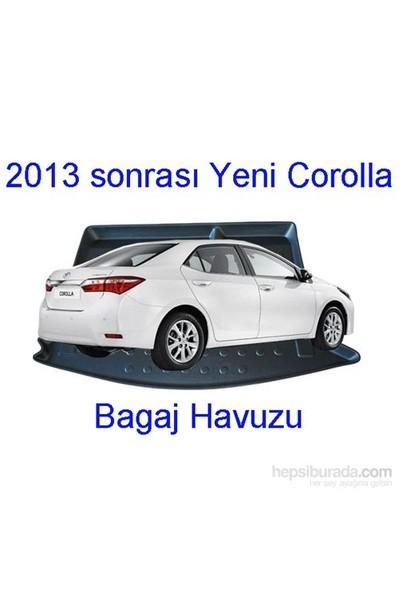 Toyota Corolla Sedan 2013 Sonrası A Kalite Bagaj Havuzu