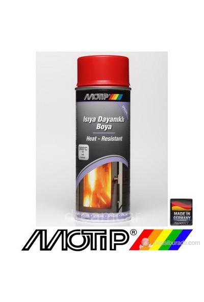 Motip 300°C Isıya Dayanıklı Kırmızı Boya 400 Ml. Made in Germany 4048500334108
