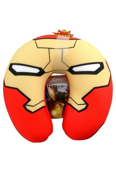 Monogram Iron Man Defter Ve Yastık Seti