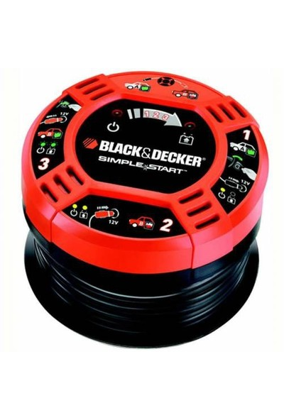 Black Decker Araç Çakmaklık Akü Şarj Aleti BBC2CB
