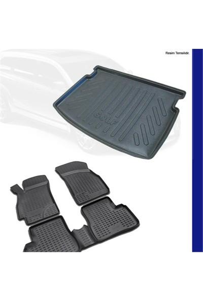 Ford Focus 3 Sedan Bagaj Havuzu (Kalın Stepne) & 3D Paspas 2011-14