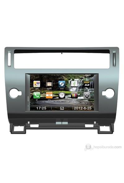 """Navimex CITROEN C4 NAV9946HD 7"""" Dokunmatik HD Ekranlı TV'li-Navigasyonlu Multimedya sistem"""