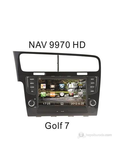 "Navimex VOLKSWAGEN GOLF 7 NAV9970HD 8"" Dokunmatik HD Ekranlı TV'li-Navigasyonlu Multimedya sistem"