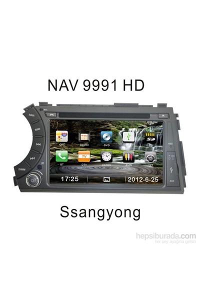 Navimex Ssangyong - Nav 9991 Hd Navigasyonlu Multimedya Sistemi