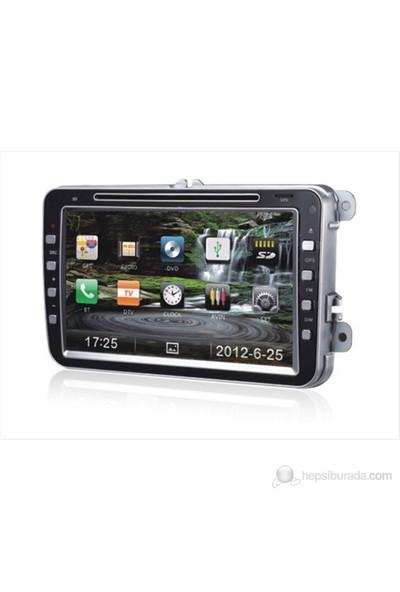 "Navimex WOLKSWAGEN NAV9901HD 8"" Dokunmatik HD Ekranlı TV'li-Navigasyonlu Multimedya sistem"