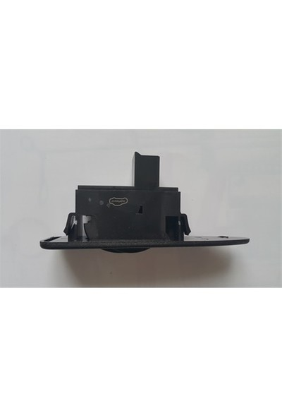 Mitsubishi Carısma Cam Anah. Tekli 8 Pin 99-05 Siyah Cam Düğmesi