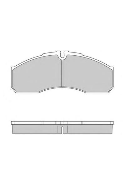 Beşer 3942 Ön Balata Renault Mascott (99-04)- Iveco Daıly Iı (01-06)