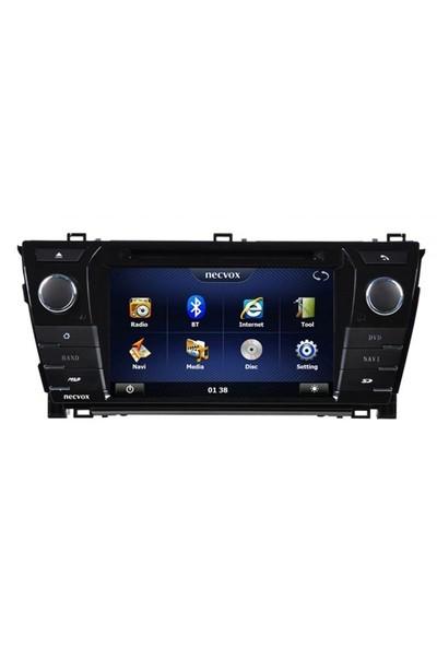 Necvox Dvn -P 1079 Toyota Corolla New Platinum Navigasyonlu Multimedya Kamera Dvd Mp3 Tv Anteni Geri Görüş Kamerası