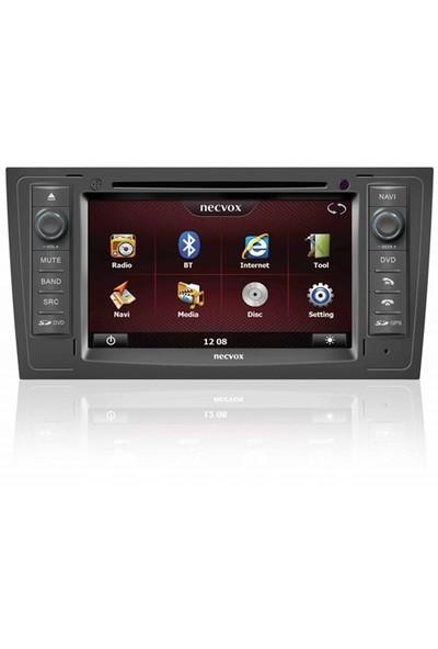Necvox Dvn -P 1104 Audi A6 Platinum Navigasyonlu Multimedya Kamera Dvd Mp3 Tv Anteni Geri Görüş Kamerası