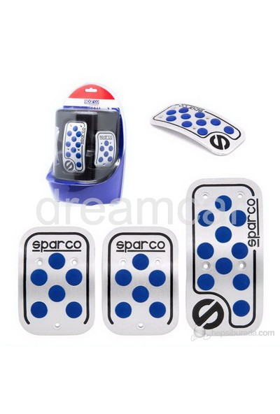 Sparco Corsa Raicing Pedal Seti Mavi SPC0406AZ