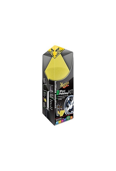 Meguiars Wheel Polishing Kit Jant Parlatma Kiti