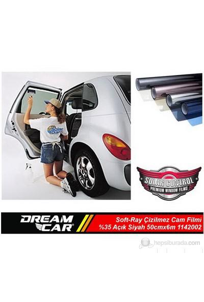 Dreamcar Soft-Ray Çizilmez Cam Filmi Açık Siyah %35 50cmx6m 1142002