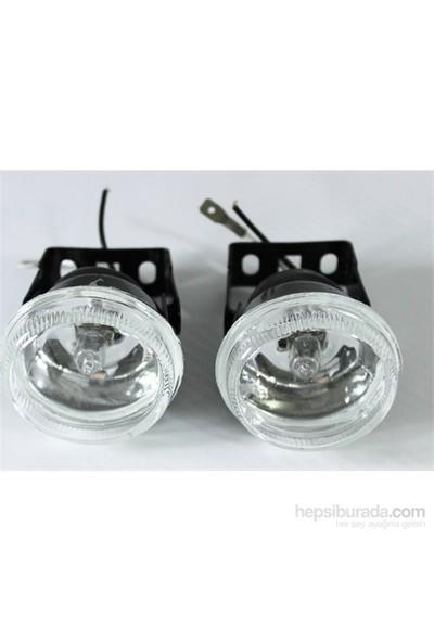 ModaCar Beyaz Camlı Sis Lambası Seti 426842