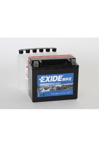 Exide 12V 10Ah 180Cca Etx12-Bs Exide