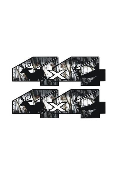 Sticker Masters 4X4 Siyah Sticker