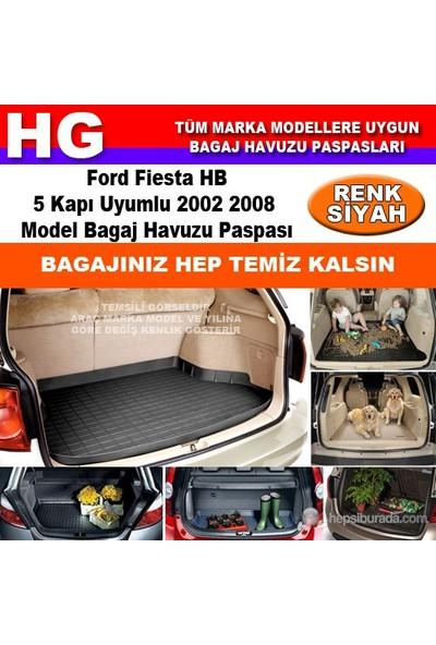 Ford Fiesta 2002 2008 Siyah Bagaj Havuzu Paspası 38775