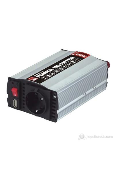 DBK WM901-F - 300 Watt 12-230 Volt USB'li Dönüştürücü (İnvertör)