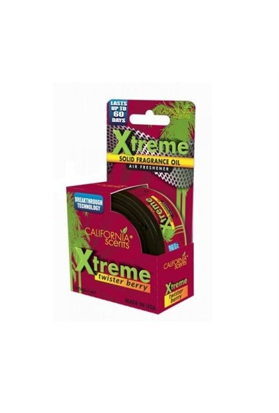 California Car Scents Xtreme Twister Berry