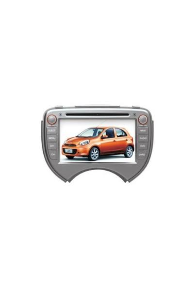 Cyclone Nissan Micra Navigasyon Multimedya Dvd Mp3 Geri Görüş Karmerası