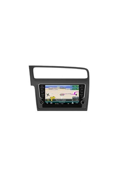 Cyclone Volkswagen Gri Golf 7 Navigasyon Multimedya Dvd Mp3 Geri Görüş Karmerası
