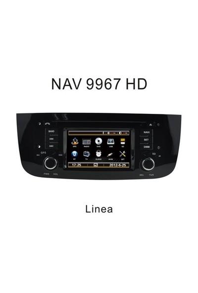 Navimex Fiat Linea Navigasyon Multimedya Dvd Mp3 Geri Görüş Kamerası