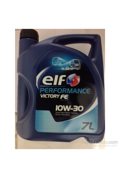 Elf Performance Vıctory Fe 10w30 7 Litre